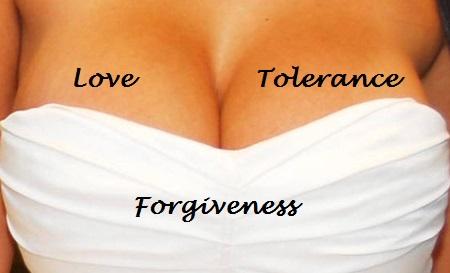 Love & Tolerance Boobs