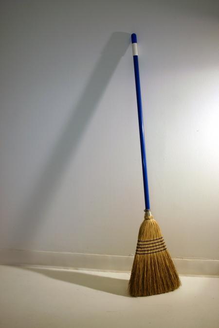 Broom-and-energy-of-Feng-Shui