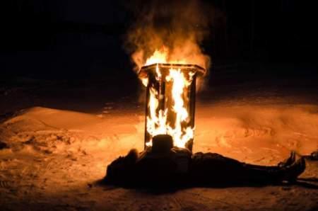 Burning pulpit 10