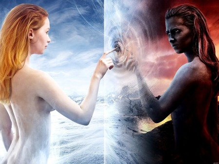 Angel-Demon-Girls-Fantasy-Nude-Art-Printing-wall-poster-24-x32-wbp05081