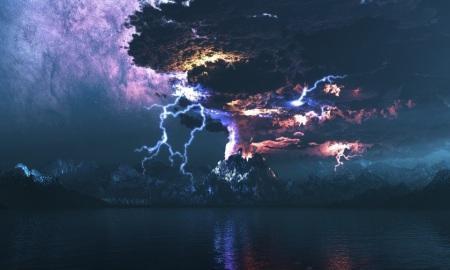 volcano_eruption_lightning-wallpaper-960x600