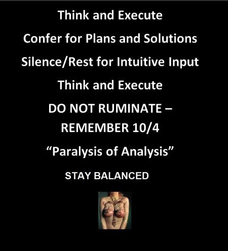 paralysis of analysis